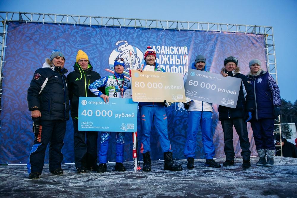 Тройка призеров среди мужчин: Михаил Девятьяров, Денис Зайцев и Дмитрий Клюквин