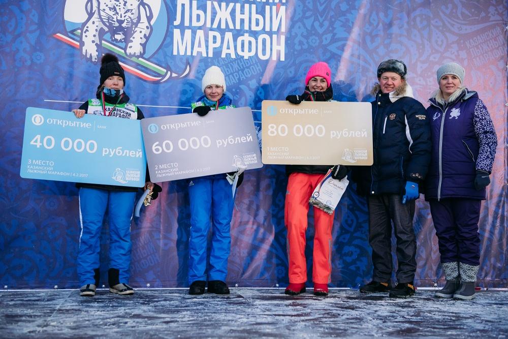 Тройка призеров среди женщин: Ольга Рочева, Светлана Кузнецова, Ксения Конохова